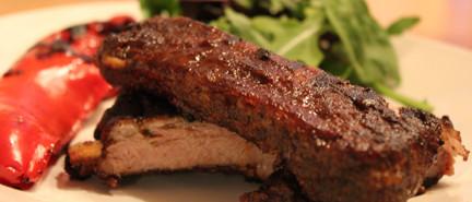 ribs, BBQ, BBQ sauce