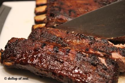 cutting ribs