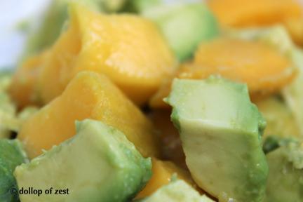 mango avocado chopped