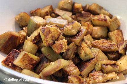 egplant cooked