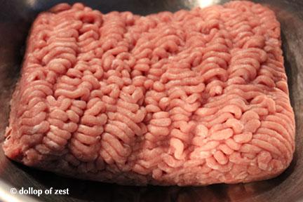 turkey chop meat for turkey burgers