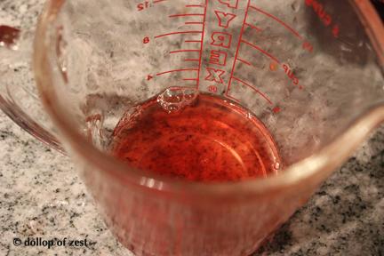 vinegar for gazpacho with a seville twist