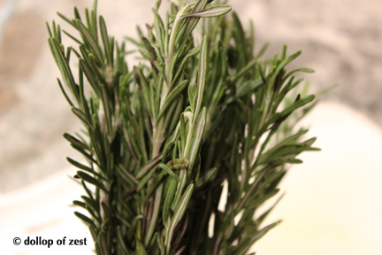 rosemary stems for rosemary roasted butternut squash