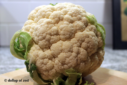 cauliflower for cauliflower rice