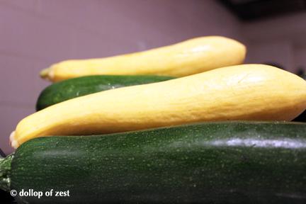 zucchini for zucchini noodles