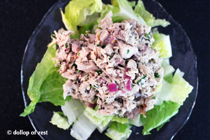 """leftover"" chicken salad"